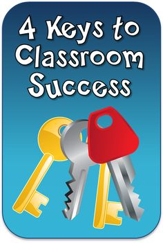 4 Keys to Classroom Success - Guest blog post on Corkboard Connections by Scholastic author Kelly Bergman, with a chance to win her classroom management DVD kit
