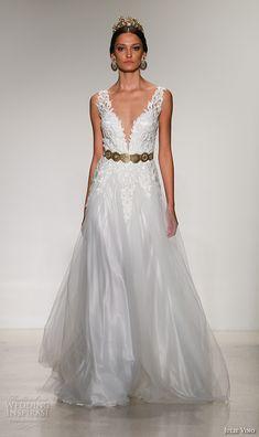 "Julie Vino Fall 2016 ""Santorini"" Wedding Dresses — New York Bridal Runway Show | Wedding Inspirasi"