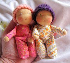 adorable tiny dolls