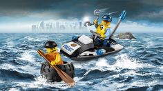 Lego City, Police, Tire Escape, March 2016
