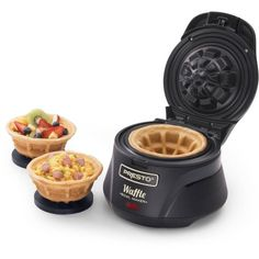 Make thick, fluffy and tender waffles using this Presto Belgian Waffle Bowl maker. Waffle Bowl Maker, Belgian Waffle Maker, Belgian Waffles, Waffle Cones, Cool Kitchen Gadgets, Kitchen Items, Cool Kitchens, Kitchen Dining, Kitchen Tools
