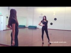 How to walk like a model - Before and After - Elite Model Look Finalist Nadine Keller