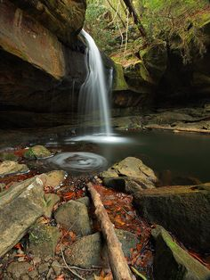 Dog Slaughter Falls, Daniel Boone National Forest, Kentucky