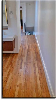 Reclaimed Narrow Plank Floor Aged Material Materials