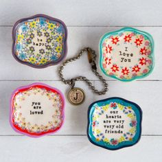 Mini Artisan Trinket Dishes