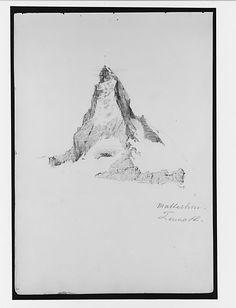 John Singer Sargent - Matterhorn, Zermatt