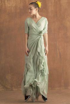 Vestido Tuya jade