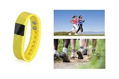 SumTec - Flex-Bit Bracelet - Yellow - Bluetooth Watch - WiFi - Calorie Counter Wireless - Day/Night Monitor - Pedometer - Sport Activity Tracker - Android IOS Phone Compatible - WiFi - SumTec Inc http://www.amazon.ca/dp/B014OCNVHS/ref=cm_sw_r_pi_dp_v-dkwb10N1SBM