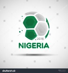 Find Football Championship Banner Flag Nigeria Vector stock images in HD and millions of other royalty-free stock photos, illustrations and vectors in the Shutterstock collection. Nigeria Flag, National Football Teams, Flag Colors, National Flag, Vector Stock, Soccer Ball, Balls, Royalty Free Stock Photos, Banner
