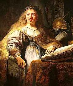 """""""Minerva in her Study""""--my favorite Rembrandt from the recent show at the NC Museum of Art"""