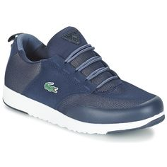 Lacoste L.ight R 316 1 Bleu Basket Sneakers, Baskets, Lacoste Shoes, Textiles, Sketchers, Fashion, Lacoste Sneakers, Athletic Shoe, Over Knee Socks