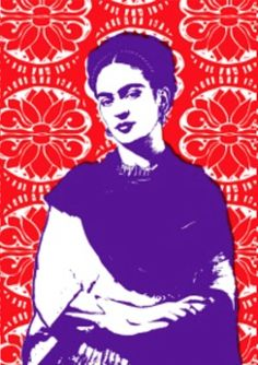 Frida Kahlo Tea Towel by Plum Jam Collages, Lovely Creatures, Quirky Gifts, Arts And Crafts Movement, Ex Libris, Traditional Design, Tea Towels, Icon Design, Screen Printing