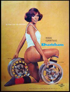 Anúncio rodas Duralum - 1976
