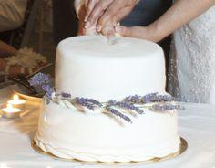 lavender inspired white vanilla and rocher flavored wedding cake weddings-croatia.com