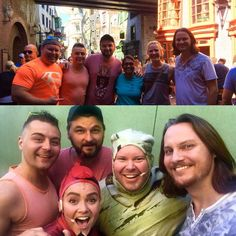 Adam Chance and Tim Foust with friends ( Home Free Vocal Band, Country Singers, Notebook, Group, Guys, Couple Photos, Twitter, Random, Friends