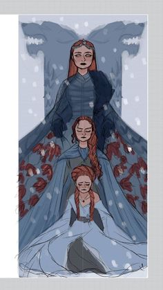 Find images and videos about game of thrones, got and sansa stark on We Heart It - the app to get lost in what you love. Dessin Game Of Thrones, Arte Game Of Thrones, Game Of Thrones Funny, Game Thrones, Inspiration Art, Character Inspiration, Character Art, Character Design, Sansa Stark