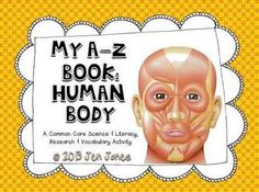 A-Z Vocabulary Book: Human Body