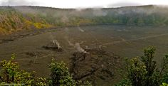 Hike over a lava floor barely 50 years old - and still steaming! The Kilauea'iki trail on the Big Island