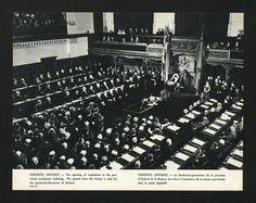 The opening of the Ontario Legislature, 1963.