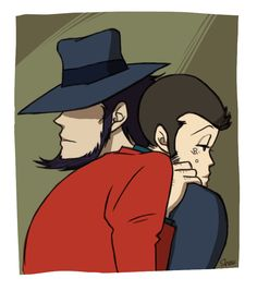 Jigen always looks like one of those guys who don't care, but deep down, you know, he still doesn't.