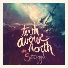 Tenth Avenue North's new album cover. I love the inspiration, the boat full of disciples on the angry waves.
