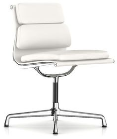 Beau Herman Miller Eames Soft Pad Armless Side Chair   Modern   Task Chairs    SmartFurniture