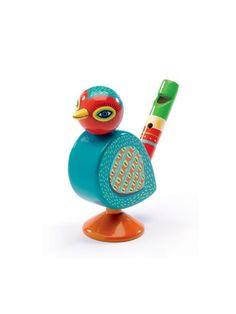 Home :: Toys :: Μουσικά όργανα :: Πνευστά :: Djeco Σφυρίχτρα ξύλινη 'Πουλάκι'