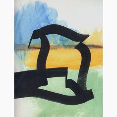 Landscape. #abstract #line #colour #color #landscape #space #nothing #emptiness #clutter #minimal #digitalart #illustration #collage