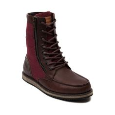 Shop for Mens Levis Larkin Boot in Dark Brown at Journeys Shoes. Shop today for the hottest brands in mens shoes and womens shoes at Journeys.com.The Larkin from Levis is a hi-top casual shoe featuring a leathercanvas upper, lace closures, side zipper, and a padded collar for comfort. Available for shipment in November