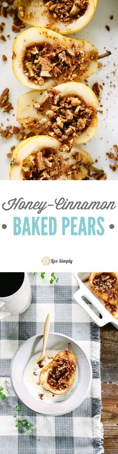 Breakfast or dessert? Baked pears are healthy, naturally-sweet, and so easy to make.