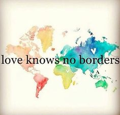 No borders to love ❤️