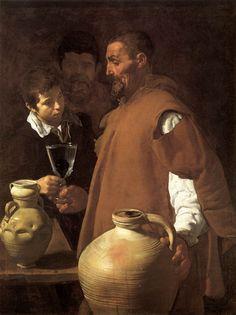 Diego Velázquez: El aguador de Sevilla.