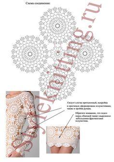 Fabulous Crochet a Little Black Crochet Dress Ideas. Georgeous Crochet a Little Black Crochet Dress Ideas. Pull Crochet, Crochet Tunic, Crochet Motif, Irish Crochet, Crochet Clothes, Crochet Lace, Crochet Patterns, Crochet Wedding Dress Pattern, Crochet Wedding Dresses