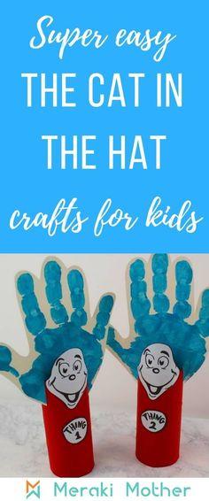 Easy Dr. Seuss Crafts for Kids