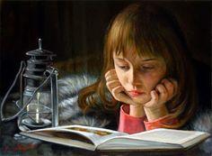 Cacciapuoti, Giuseppe (1969-...) Bambina che legge