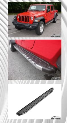 Check out our new Jeep Gladiator running boards. Looks awesome! #jeep #jeepgladiator #jeeprunningboards #gladiator