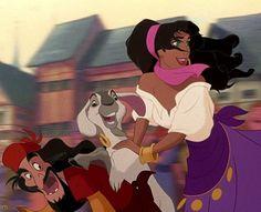 Gypsi, Djalli & Esmeralda from The Hunchback of the Notre Dame, Disney