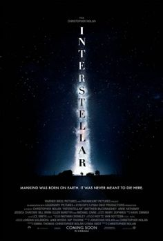 Unveiled: The First Poster Of Christopher Nolan's Interstellar | #Hollywood #Movies
