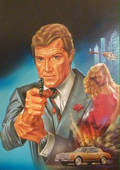 007 artwork: Moonraker paperback cover