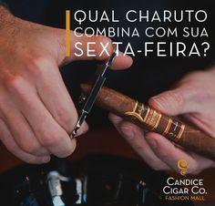 Qual dos nossos charutos que você já degustou é o que mais combina com sua sexta-feira? Ainda não sabe? Então corre pra Candice Fashion Mall agora para escolher um! #candice #charuto #charutos #charutoscandice #cigar #cigarlover #habanos #thecigarculture http://misstagram.com/ipost/1538696218687190007/?code=BVajA78FjP3