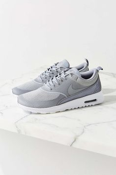 Shop Nike Air Max Thea Textile Sneaker at Urban Outfitters today. Nike Free Shoes, Nike Shoes Outlet, Cute Shoes, Me Too Shoes, Nike Thea, Air Max Sneakers, Sneakers Nike, How To Have Style, Site Nike