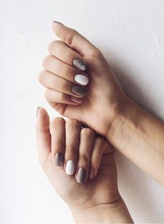 Nails, acrylic nails и gel nails. Rose Gold Nails, White Nails, Acryl Nails, Hair Skin Nails, Stylish Nails, Perfect Nails, Nail Inspo, Manicure And Pedicure, Diy Nails