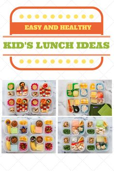 A whole week of easy, homemade kids lunches.