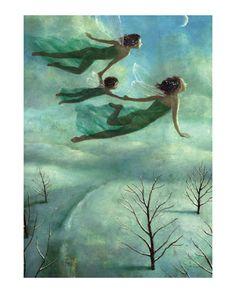 Fairies Over Snow - Stephen Mackey