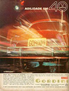 Publicidades antigas de carros: Gordini