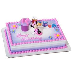 Celebrate Big Moments with DecoSet Cakes Cake pricing Minnie