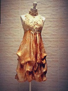 Batik dress....i'd add sleeves hihihi...