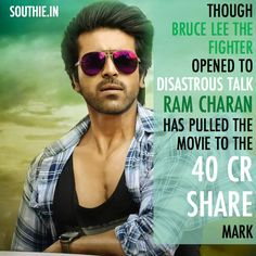Ram Charan Box office Stamina with Bruce Lee Collections. Ram Charan has made it a habit to touch the 40 Crore Mark.