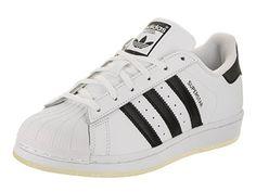 be11c1b3ec9 Adidas Kids Superstar J Originals White Black White Basketball Shoe 5.5  Kids US Sneaker