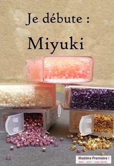 Je débute : Miyuki - Je débute - L´espace créatif | MatièrePremière Macrame Earrings Tutorial, Earring Tutorial, Paper Bead Jewelry, Paper Beads, Loom Beading, Beading Patterns, Motifs Perler, Diy Jewelry Inspiration, Bead Shop